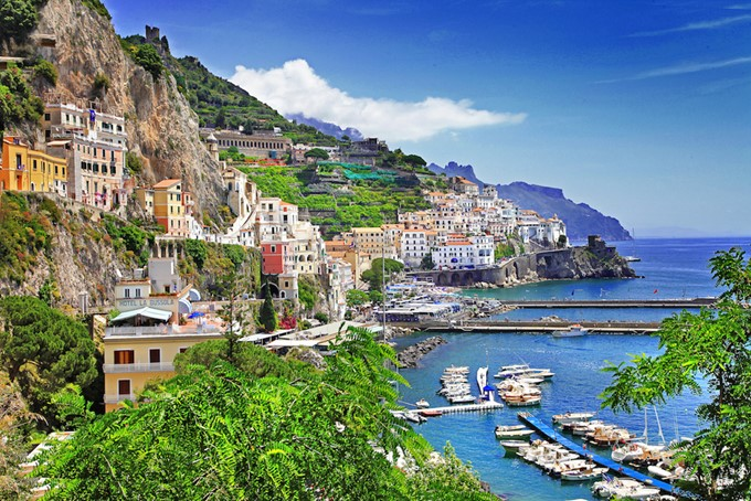 Sightseeing on the Amalfi Coast